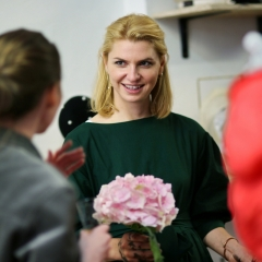 The official opening of the Albina Gorbina gallery in Prague 010