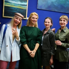 The official opening of the Albina Gorbina gallery in Prague 016
