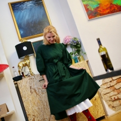 The official opening of the Albina Gorbina gallery in Prague 026