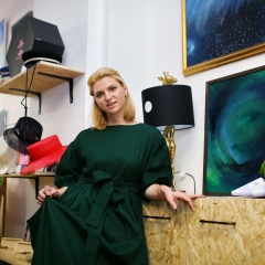 The official opening of the Albina Gorbina gallery in Prague 028