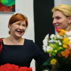 The official opening of the Albina Gorbina gallery in Prague 034